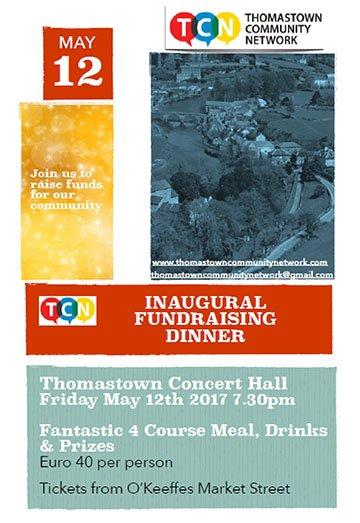TCN fundraising dinner poster