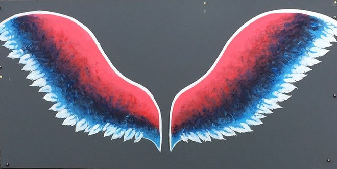 Angel Wings at Community Centre