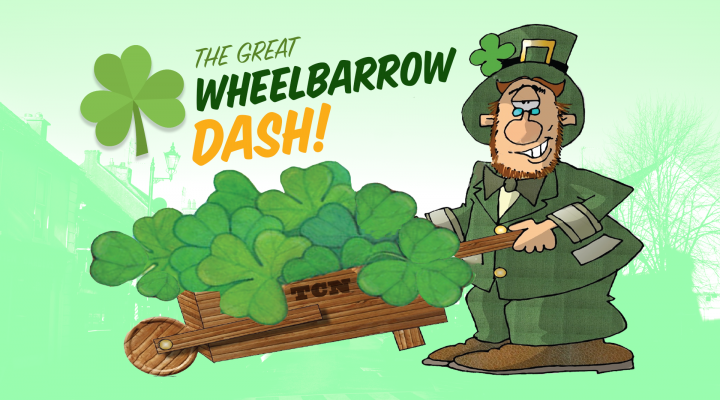 St. Patrick's Day Wheelbarrow Dash returns